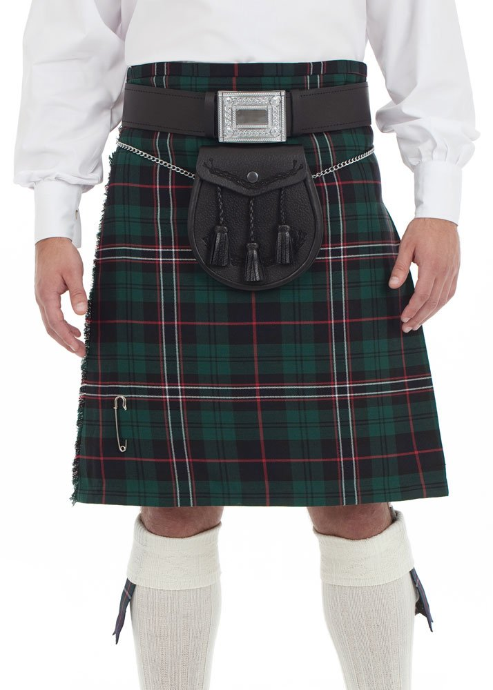Kilt Society Mens 8 Yard Kilt Scottish National Tartan 38'' to 42''