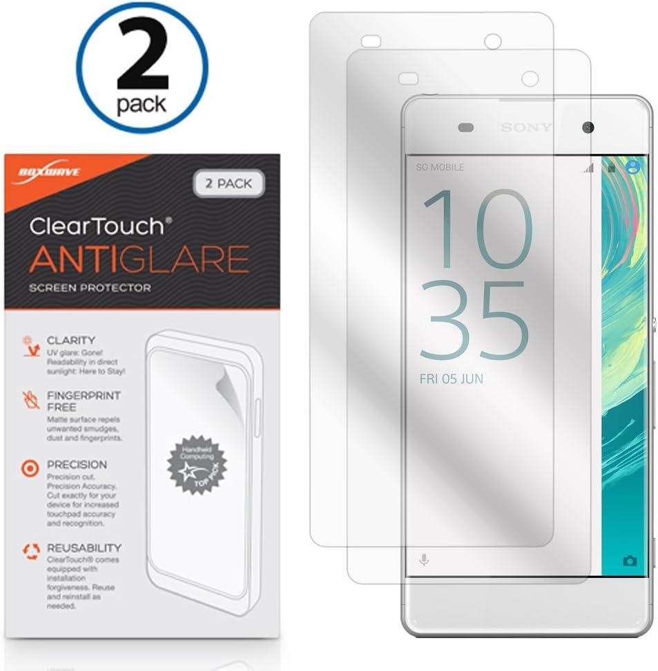 Sony Xperia XA2 Screen Protector Anti-Fingerprint Matte Film Skin for Sony Xperia XA2 ClearTouch Anti-Glare BoxWave/® 2-Pack