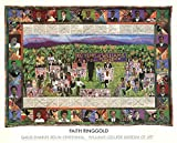 Faith Ringgold-100 Years at Williams College-1983 Poster