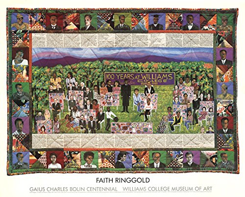 Faith Ringgold-100 Years at Williams College-1983 Poster by Ringgold, Faith