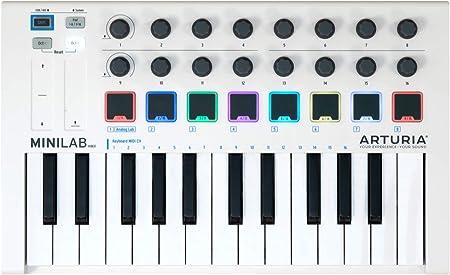 Teclado Arturia 230501 MiniLab MkII, 25 notas, controles ...