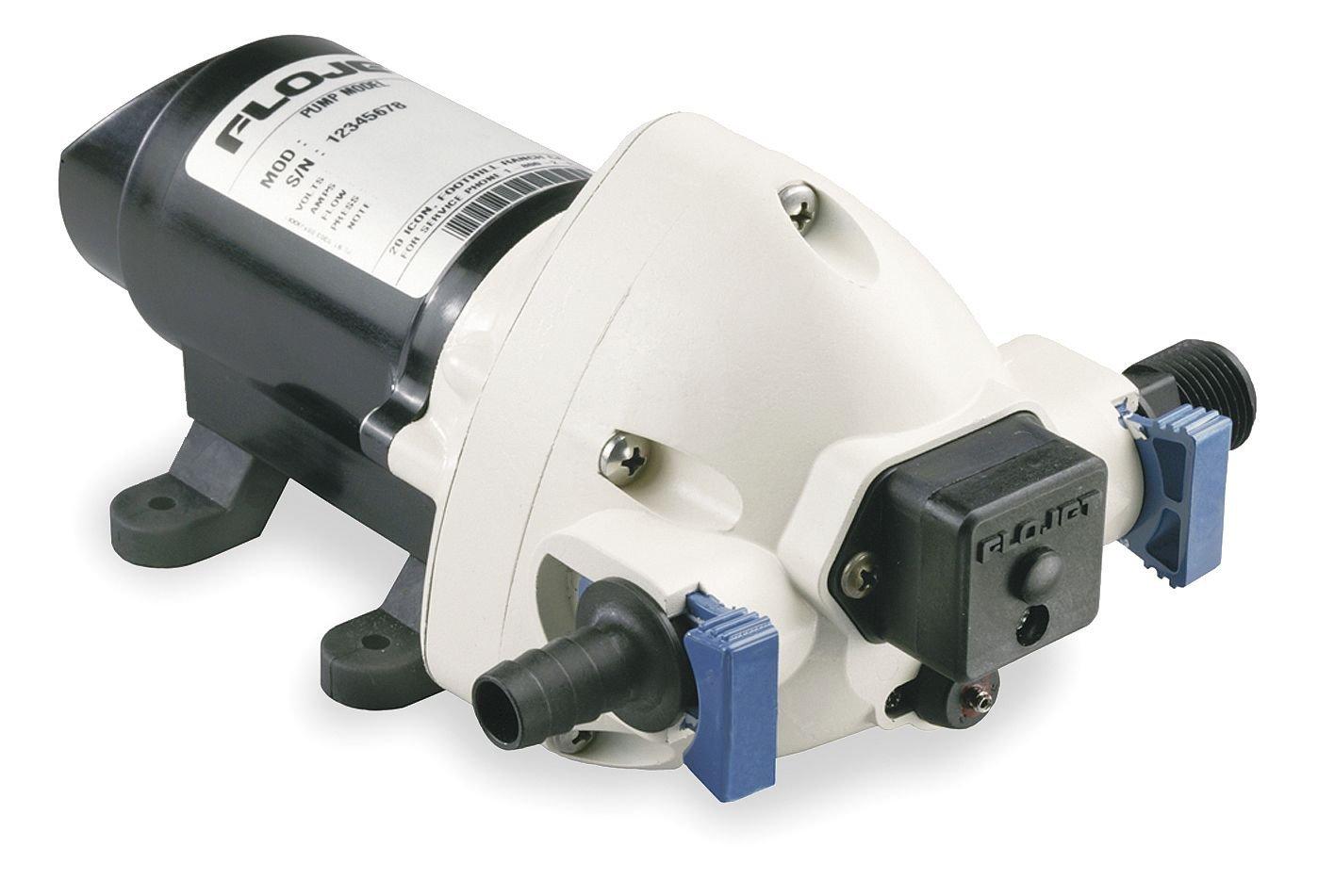 Flojet / Xylem - R3526144A - Diaphragm, Automatic Potable Water Supply Pump, Voltage: 12VDC, Polypropylene