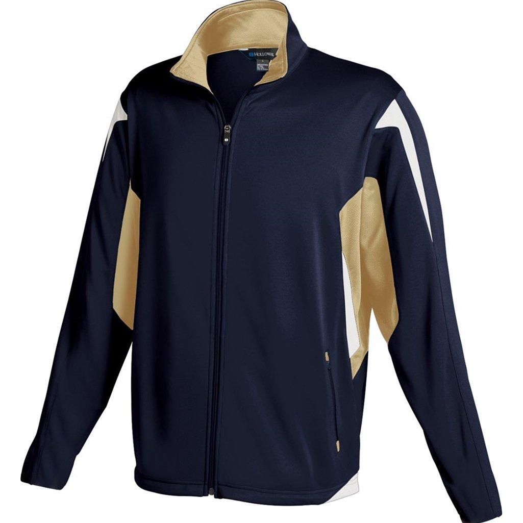 Holloway Youth Dedication Jacket (Small, Navy/Vegas Gold/White)