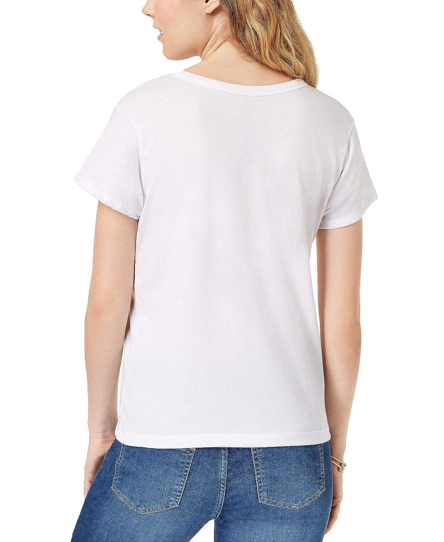 Mighty Fine Juniors Coke Graphic-Print Choker T-Shirt
