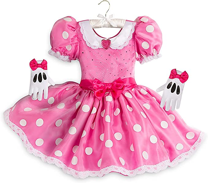 Pink Minnie Mouse Child Costume