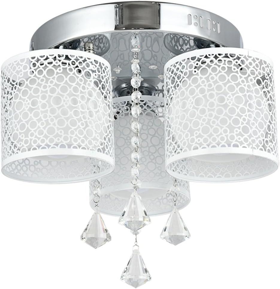 E27 LED 3//5//7 Köpfe Wohnzimmer Kristall Deckenlampe Hängeleuchte Kronleuchter