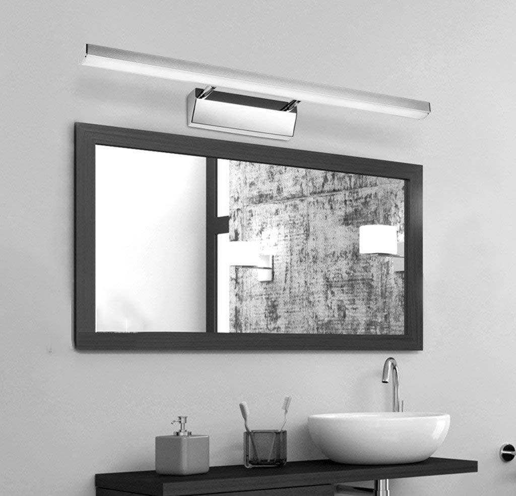 Irinay Spiegel Kabinett Spezielle Lampen Wasserdichte Nebel Badezimmer Spiegel Kabinett Lampen Wand Lampe Wasserdichte Wand Licht (Farbe   Weißes Licht-8W 50Cm-Größe)