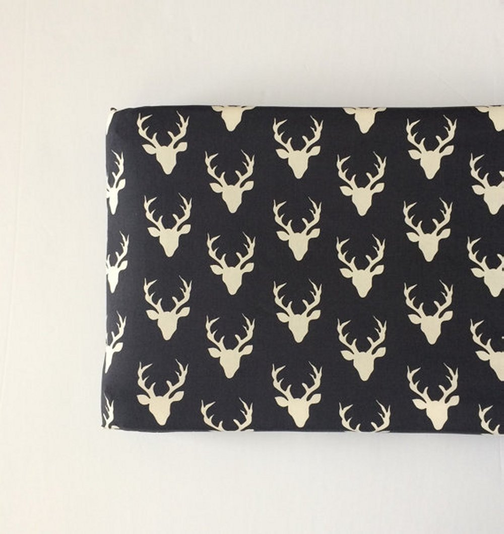 Changing Pad Cover - Navy Deer