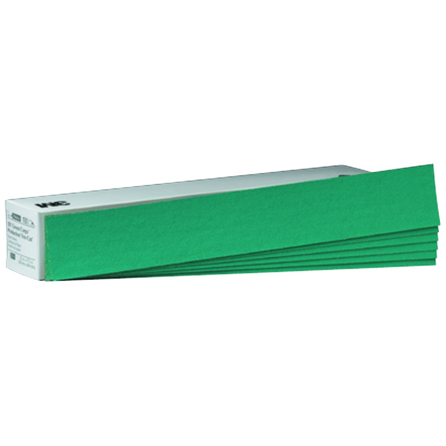 3M 02225 Green Corps 3-2/3' x 9' 80D Grit Production Resin Sheet