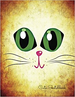 Cute Sketchbook Cat Eyes For Art Artists To Draw Designers Design