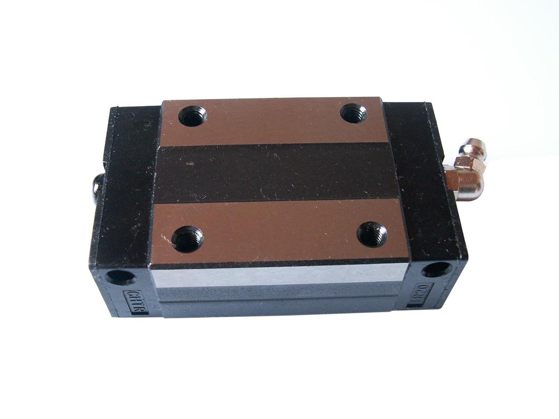 Joomen CNC Set 25-600mm 2X Linear Guideway Rail 4X Square Type Carriage Bearing Block