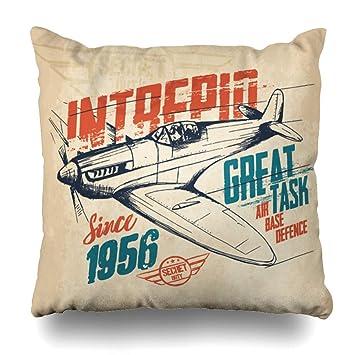 Amazon.com: Ahawoso - Funda de almohada con diseño de ...
