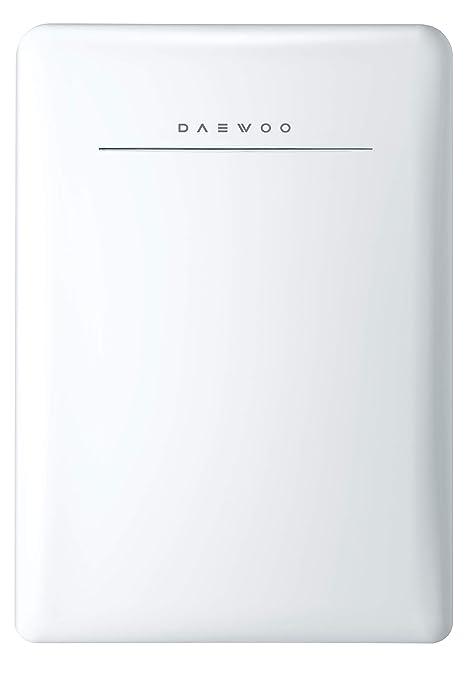 Amazon.com: Daewoo Retro Compact Refrigerador, Blanco: Aparatos