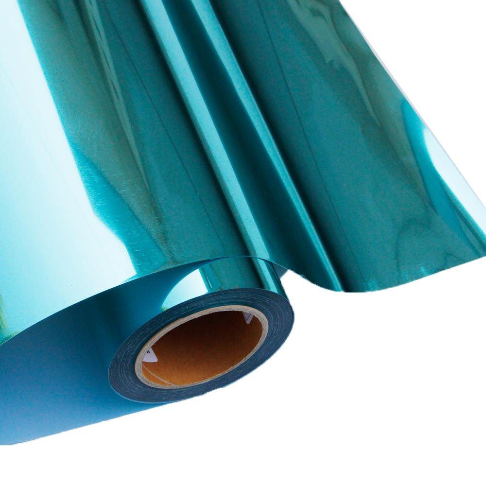 HOHOFILM Heat Transfer Metalic HTV Vinyl for T-Shirt Iron on Transfers Paper Green 50cmx30cm