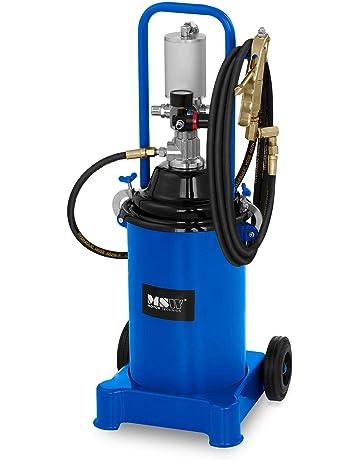 MSW Engrasadora Neumática para Taller Pro-G 12M (Volumen 12 litros, Presión De