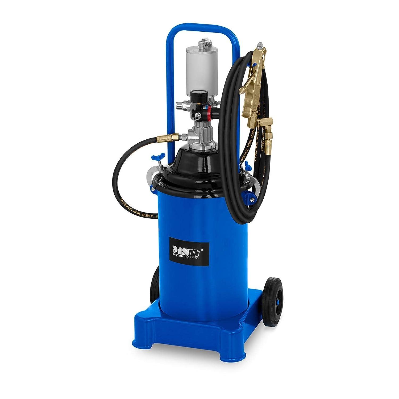 12 L, 300-400 Bar, 6-8 Bar, 50:1 MSW Ingrassatore Pneumatico A Barile PRO-G 12M