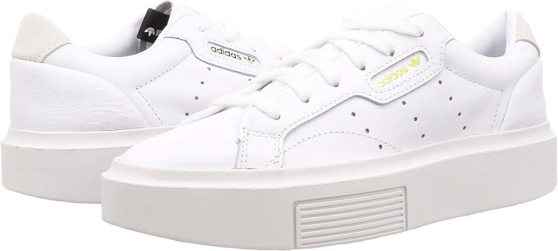 adidas Damen Sleek Super W Ef8858 Sneaker, Bianco, XX