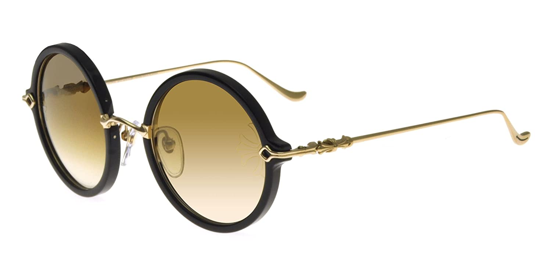 Chrome Hearts Sonnenbrillen MOIST BLACK GOLDBROWN SHADED