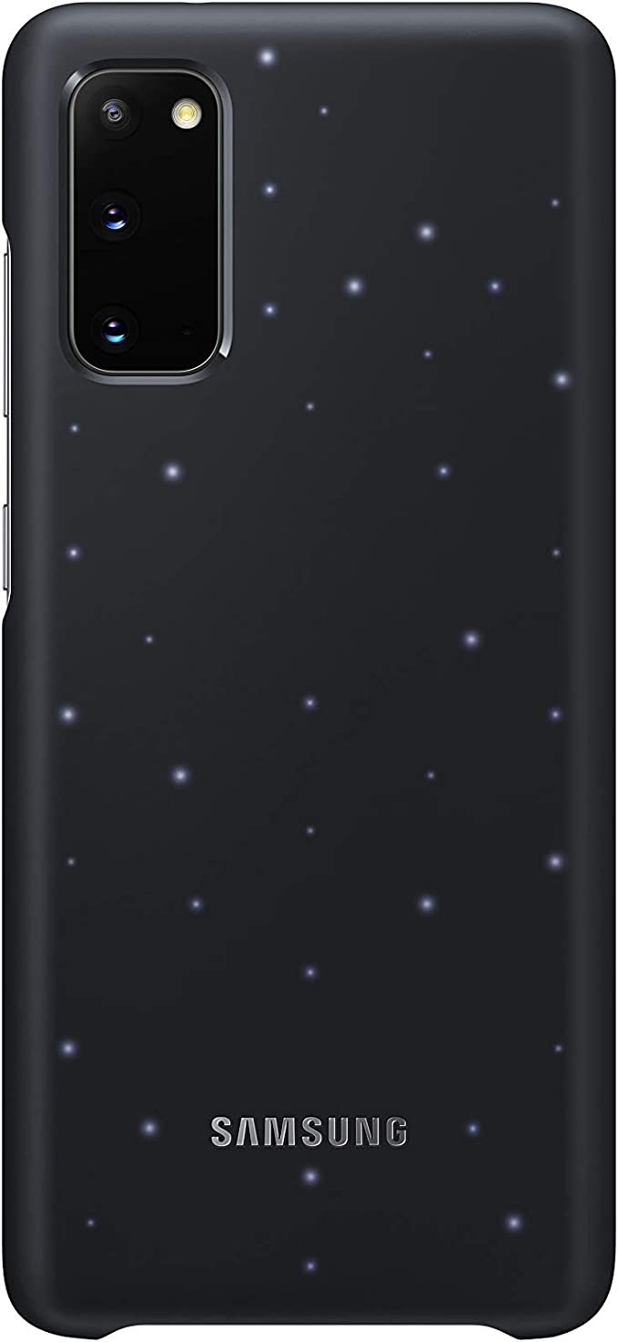 Samsung Ef Kg980 Led Smartphone Cover For Galaxy S20 S20 5g Mobile Phone Case Led Notifications Light Effects Protective Case Black Elektronik