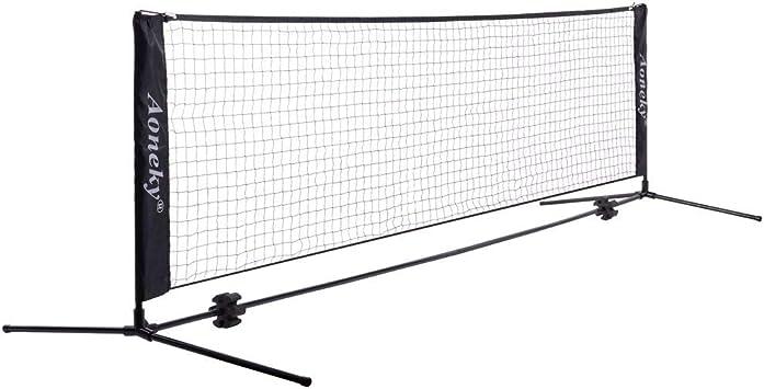 Netz Federballnetz /& Trainingsnetz Aoneky Badminton Net und Tennis Volleyball