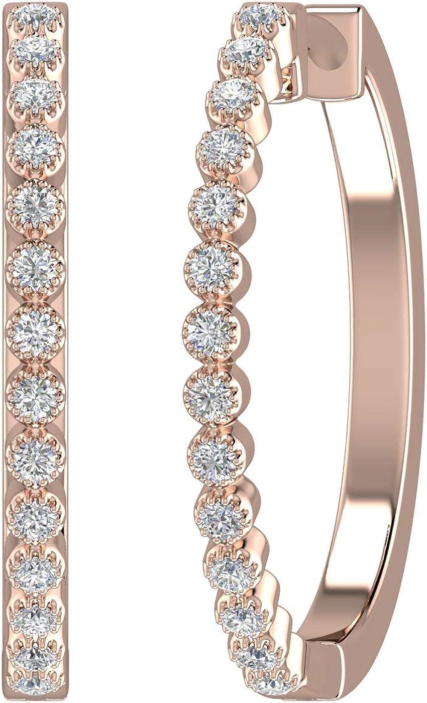 10K Gold Bezel Set Diamond...