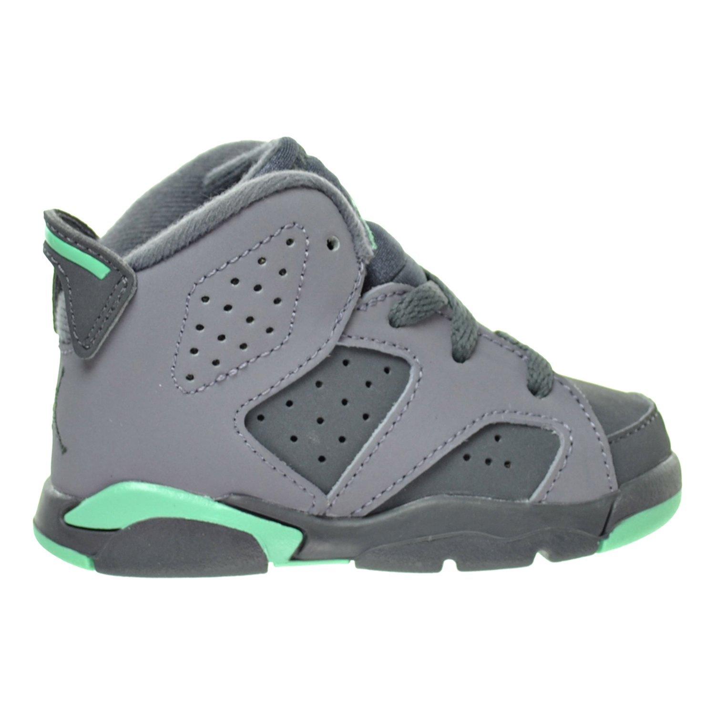 1dedf66d3cc Jordan 6 Retro GT Toddler s Shoes Cement Grey Green Glow Dark Grey 645127 -005