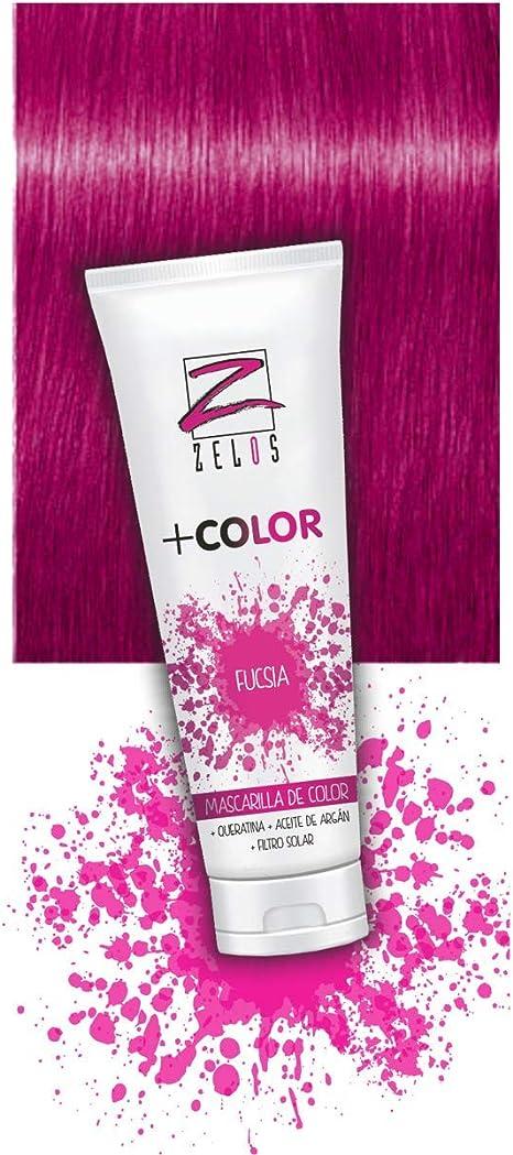 Mascarilla de Color para el Pelo - Rosa Fucsia - 200 ml ...