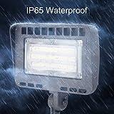 LIGHTDOT 2 Pack 70W LED Flood Light, 8400Lm 5000K