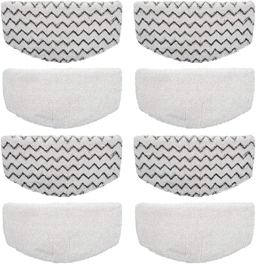 2 Pc//Set Microfiber Steam Mop Pads Replacement For Bissell PowerFresh 1940//1940W