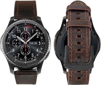 bracelet cuir samsung watch