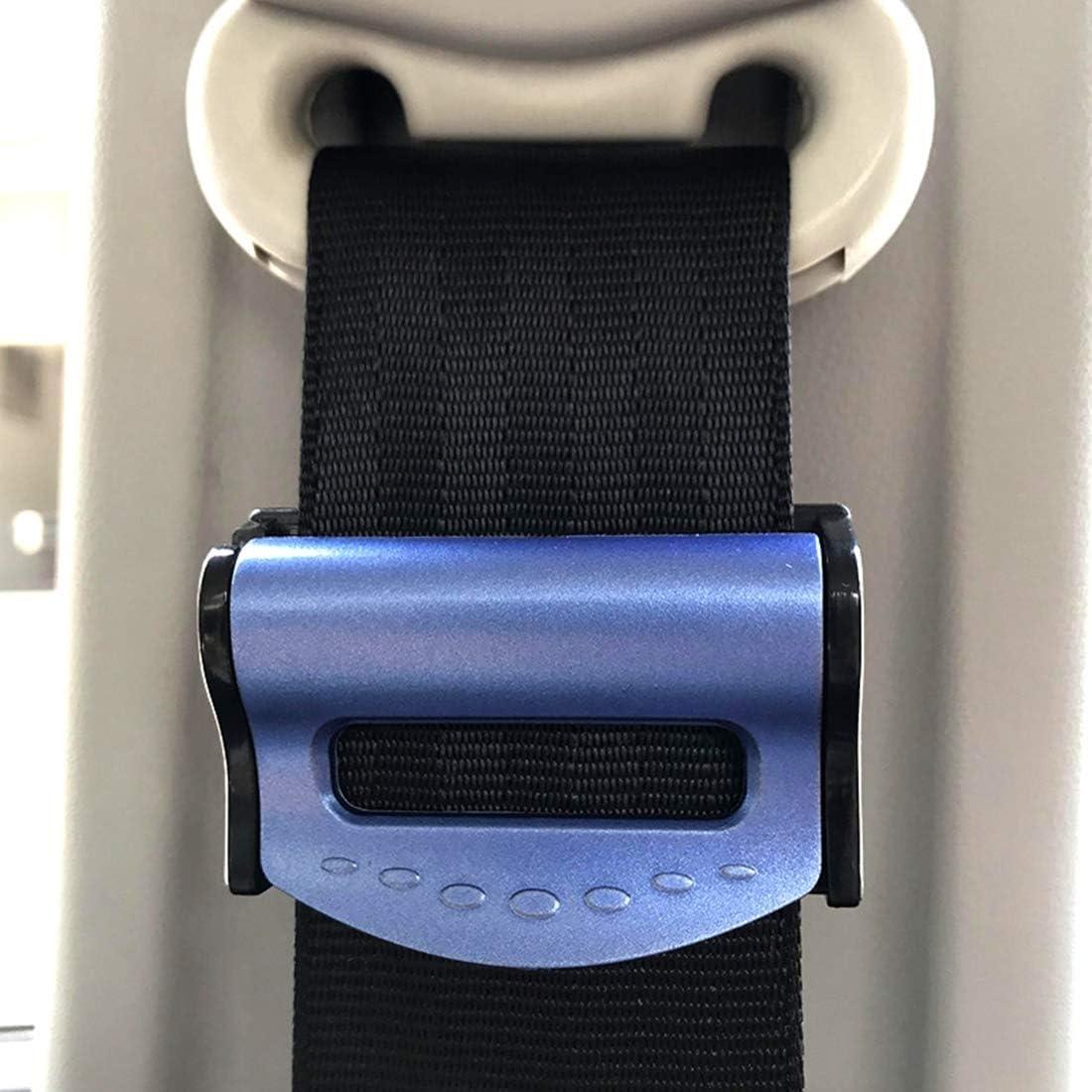 Universal Rimovibile Senza Saldatura,Blu Mixbeek Car Seat Belt Arresto della Clip Gadget 2 Imposta Impedire Cintura con Fibbia da Scivolare Gi/ù per La Cintura