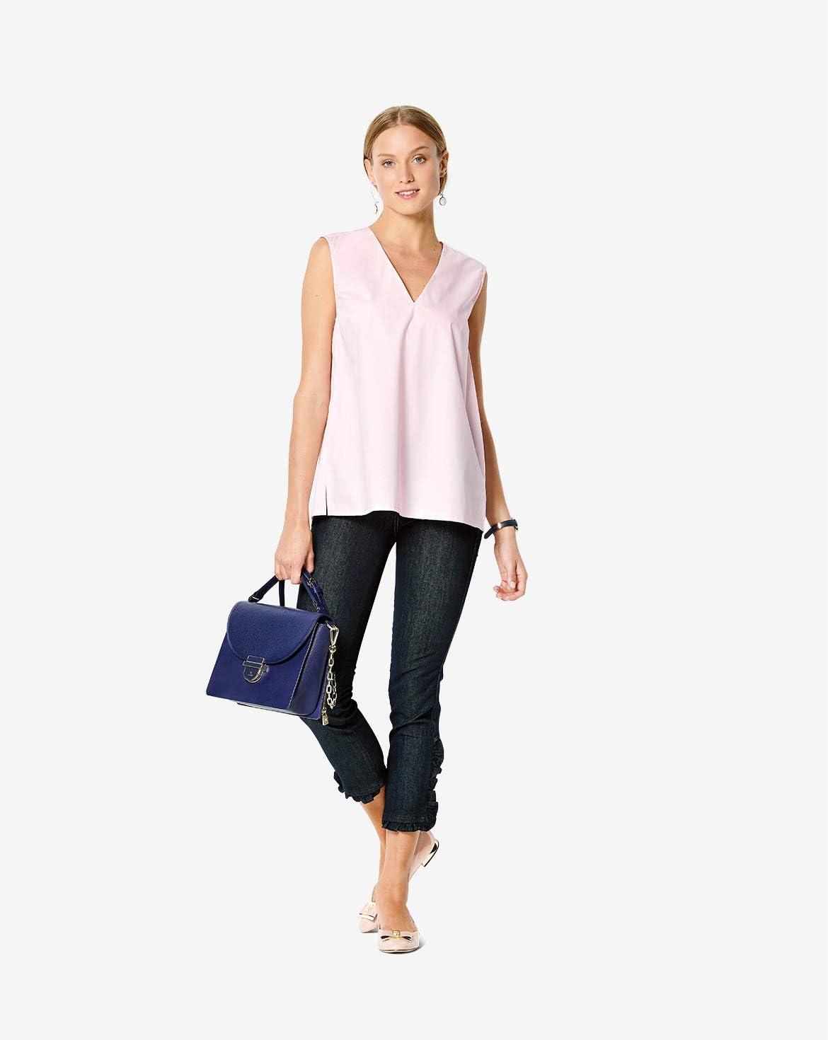 Femme Taille 34-44 Burda Patron de couture 6234 Blouse /à coudre soi-m/ême Niveau 2 pour d/ébutants
