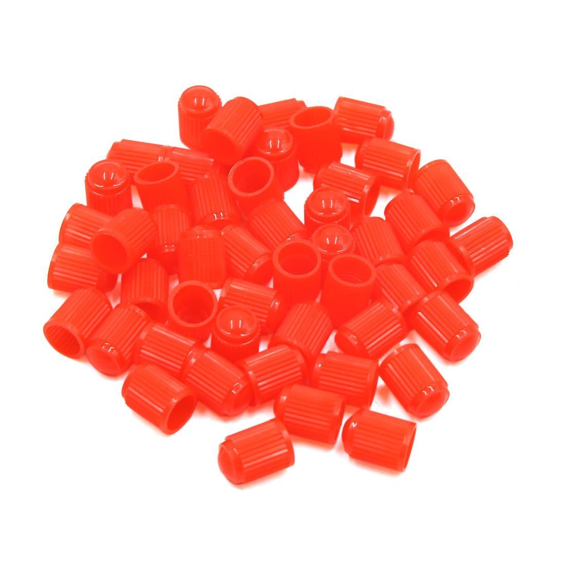 80 Pcs Bike and Bicycle Trucks YFMD Multicolor Plastic Tyre Valve Dust Caps for Car Motorbike
