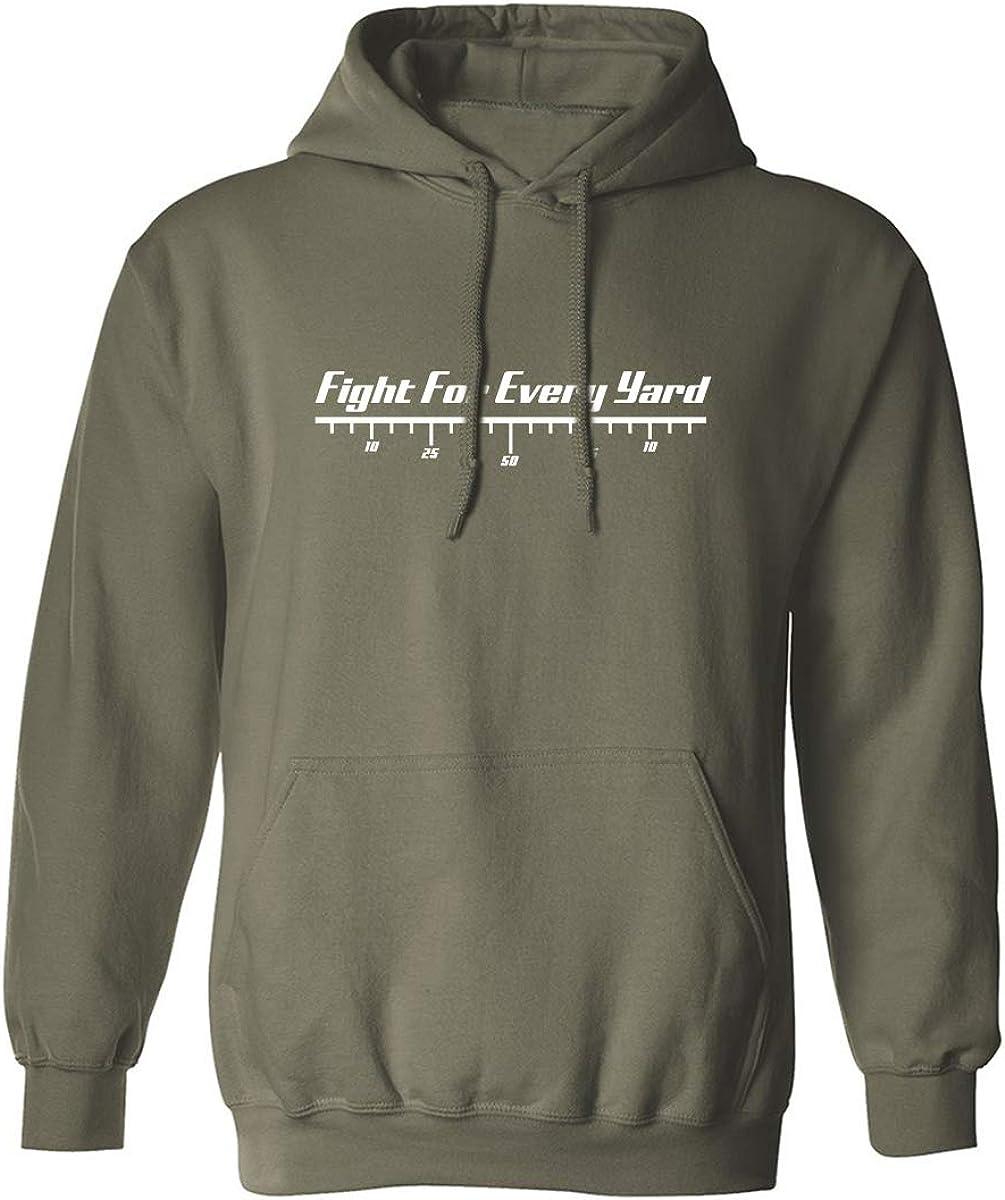 zerogravitee Fight for Every Yard Adult Hooded Sweatshirt