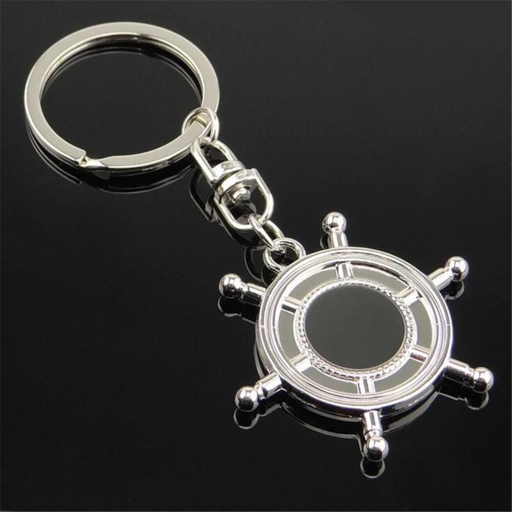 YAOSHIKOU Metal afortunados hexagonales tocadiscos volante llave ...