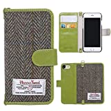 iPhone 7 Wallet Case, iPhone 7 Case, Itechshop Premium Harris Tweed Flip Folio Vintage Book Style Classic Cases, Protective Cover Shell Skin Card Slot Holder, Magnetic for Apple iPhone 7 4.7 Inch