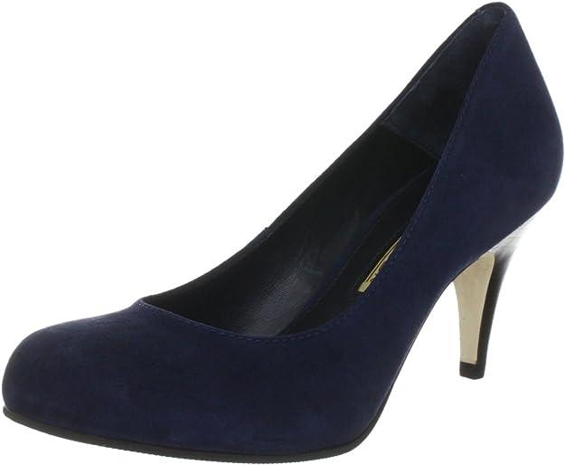 Buffalo London 9681-525 Kid Suede 124534 - Zapatos clásicos de Ante para Mujer