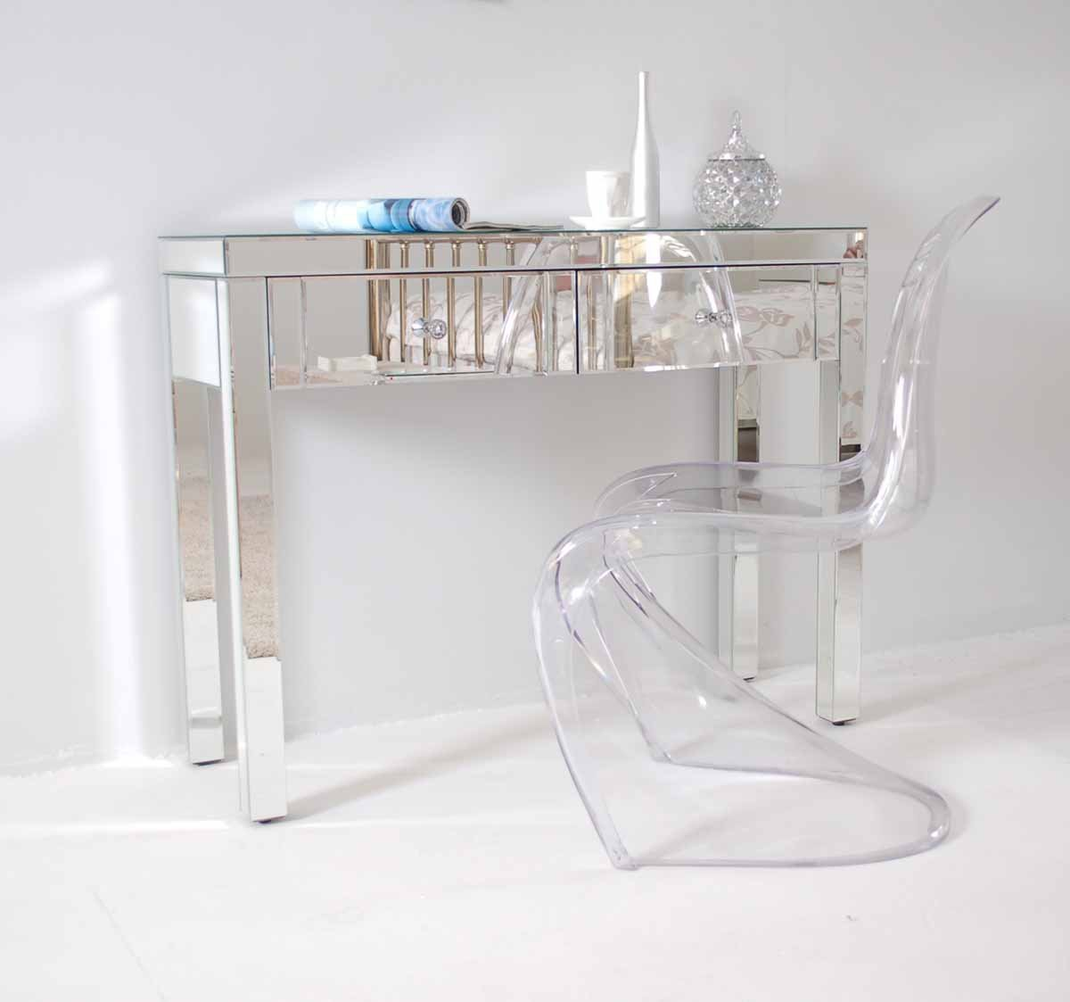 Glass dressing table - My Furniture Chelsea Mirrored Dressing Table Madison Amazon Co Uk Kitchen Home