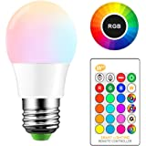 ONEVER 5W RGB lampadina del LED E27 di colore LED Modo Fade Lampada Flash Strobe Bar KTV luci decorative Cambiare atmosfera luminosa (1PCS)