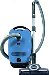 Miele Classic C1 Turbo Team Canister Vacuum Cleaner, Tech Blue