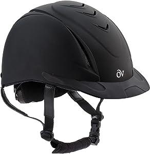 Ovation Girls' Schooler Deluxe Riding Helmet - 467566Pur