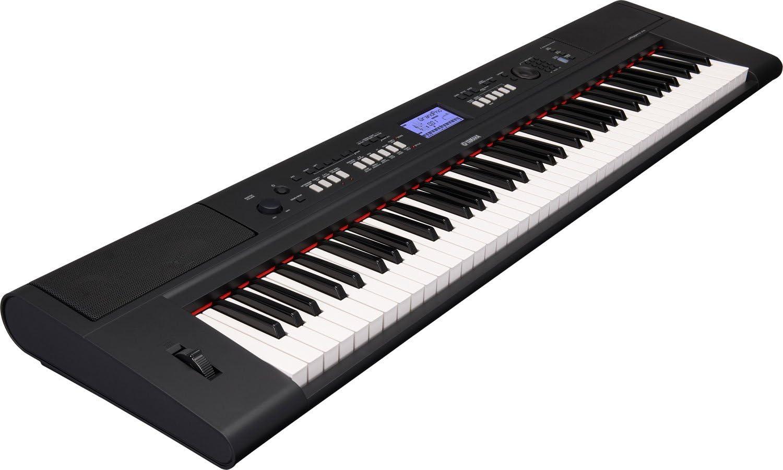 Yamaha NP-V60 - Teclado electrónica (76 teclas, 2 altavoces integrados, 489 voces y estilos, USB), color negro: Amazon.es: Instrumentos musicales