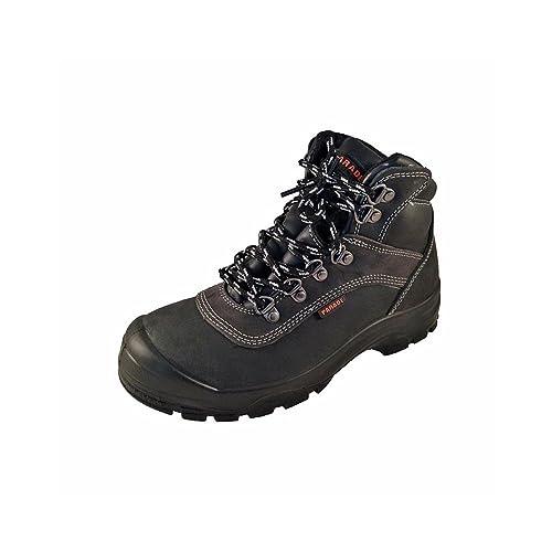 PARADE Lorca zapato de seguridad de alta ideal labor exteieur S3 Mixta, Negro (negro