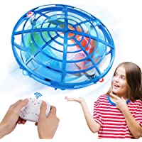 Innoo Tech UFO Drones for Kids with Gamepad Remote Control, Hand-Controlled Drone With 5 Infrared Sensors 360°Rotating…