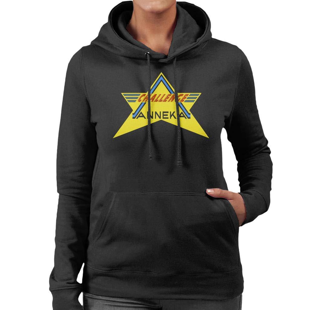 Coto7 Retro Challenge Anneka Women\'s Hooded Sweatshirt