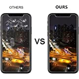 [3-Pack] [ 5.8 inch ] iPhone X Screen Protector Tempered Glass for iPhone X,3D Touch Compatible,0.3mm Ultra Thin 9H Hardness 2.5D Round Edge,Anti-Scratches,Anti-Fingerprint …