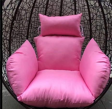 ACZZ Cojines de silla con hamaca de huevo colgante, sin ...