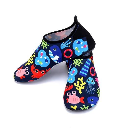 ZUOLUO Zapatos De Agua Niñas Zapatos De Agua Niños Agua De ...