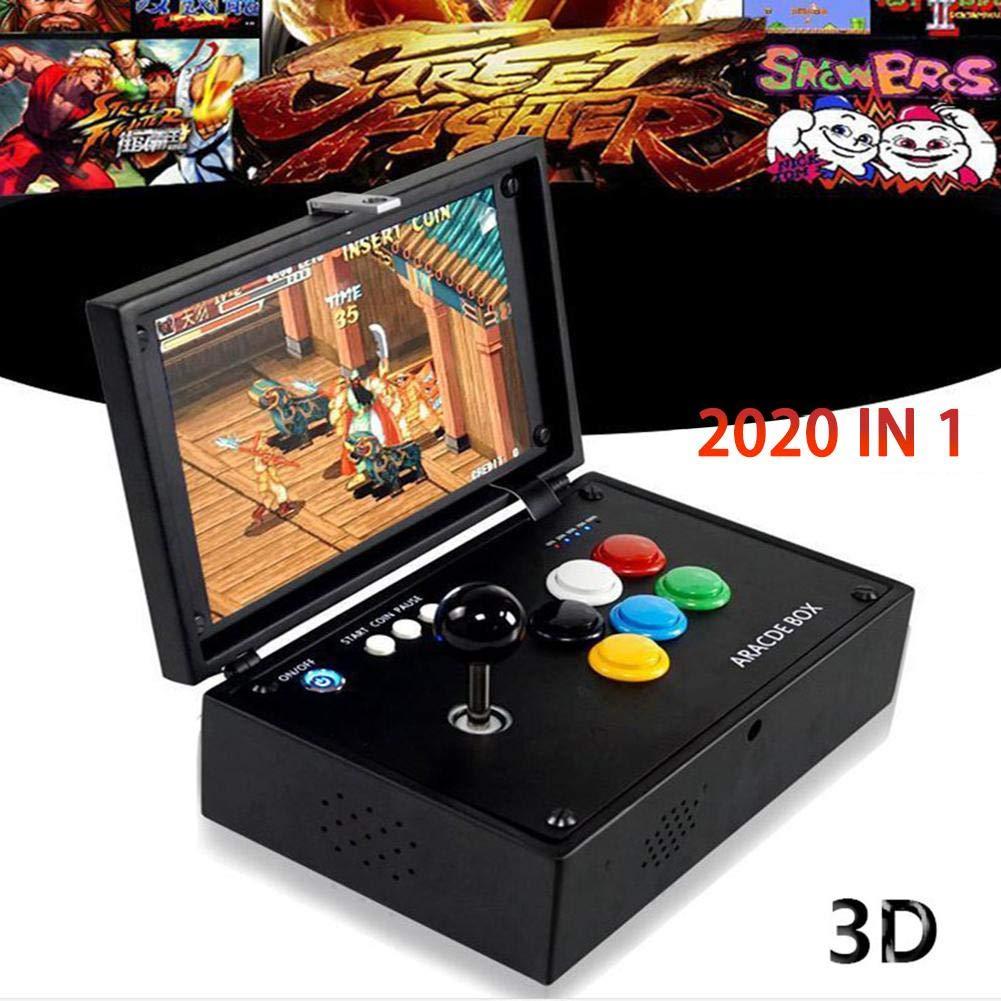 Blueyouth Arcade Game Console - Pandora's Box 3D Arcade Game Console Jamma HDMI Retro Console 10'' Screen 2177 in 1