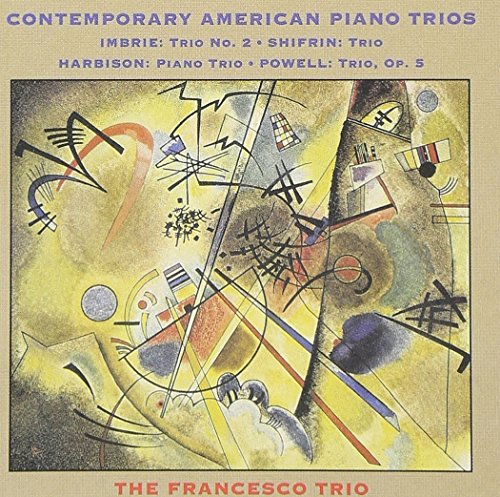 Contemporary American Piano Trios of Andrew Imbrie / Seymour Shifrin / John Harbison / Mel Powell]()